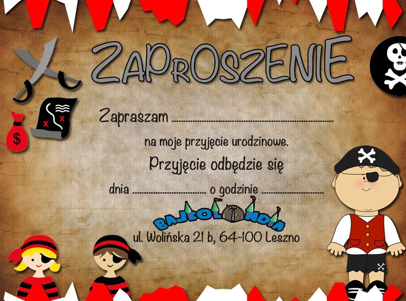 Wzór Zaproszenia Na Imprezę Bajkolandia Leszno Sala Zabaw Dla Dzieci